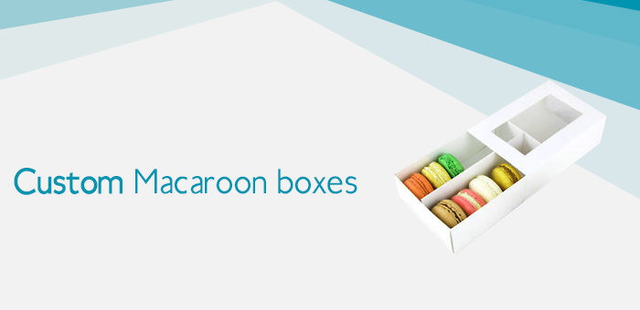 Stylish Macaroon Packaging Boxes